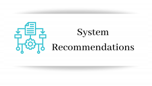 System Recommendation
